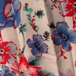 GAP Dresses - Gap floral slip dress size L